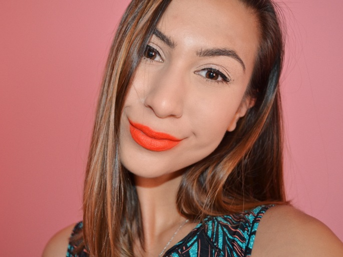 colourpop get a room lux lipstick orange