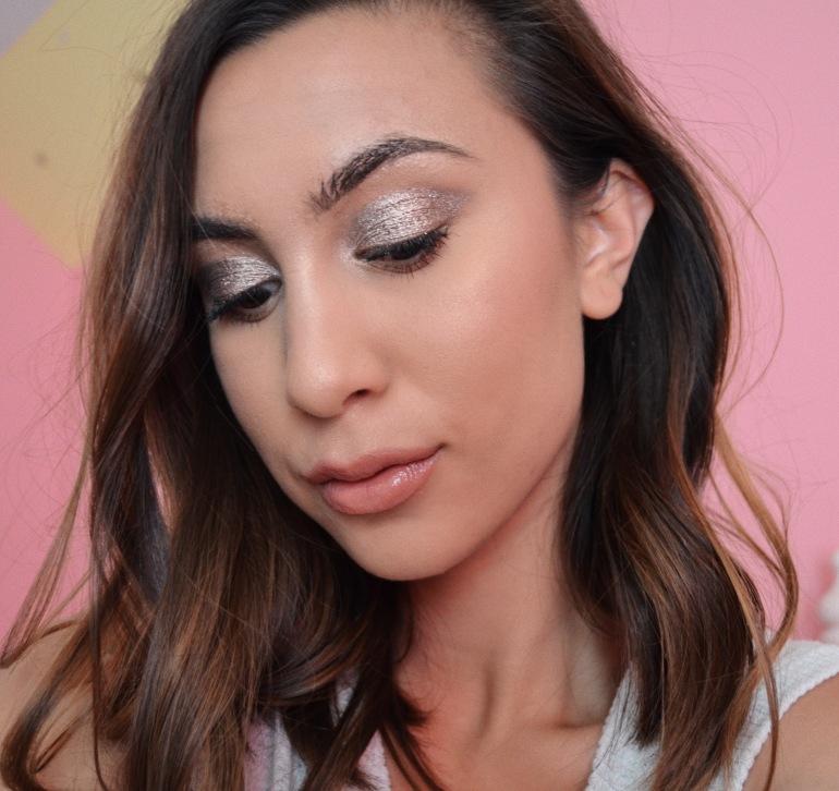Metallic Eyeshadow Beauty Look