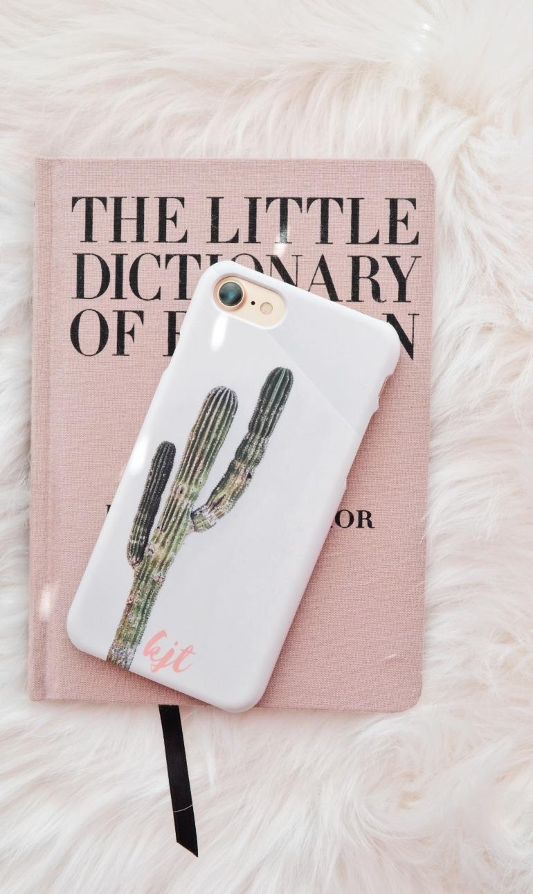 custom iphone case initials monogram