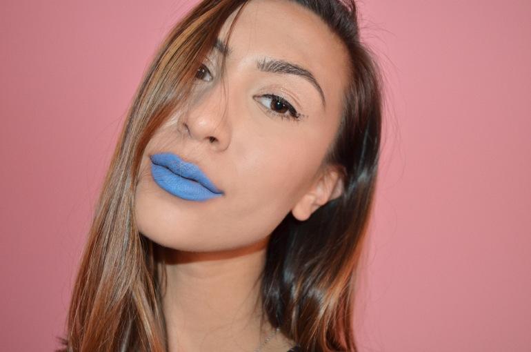 colourpop matte lux lipstick trill seeker periwinkle blue