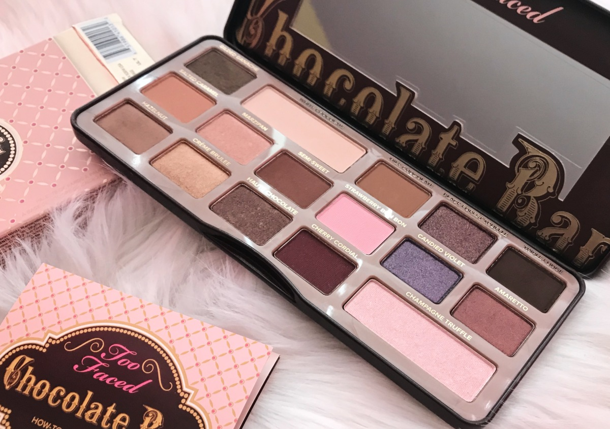 Too Faced Chocolate Bar Palette- Initial Thoughts