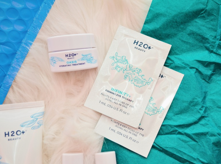 h2o+ beauty skincare product shot