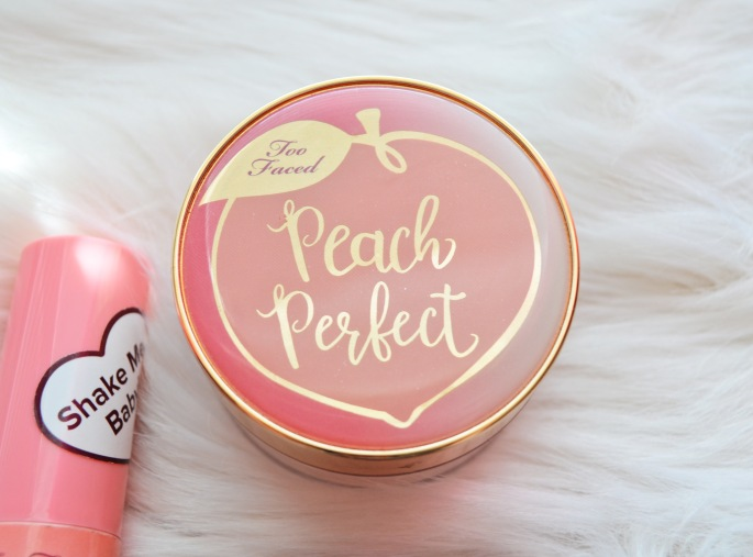 too faced peaches and cream complexion beauty