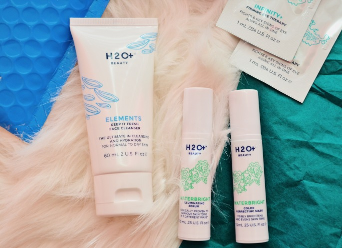 h2o+ beauty skincare face cleanser