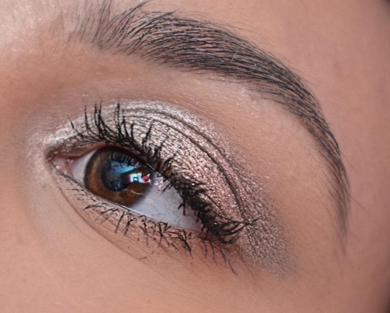 Silver Disco Eye Makeup