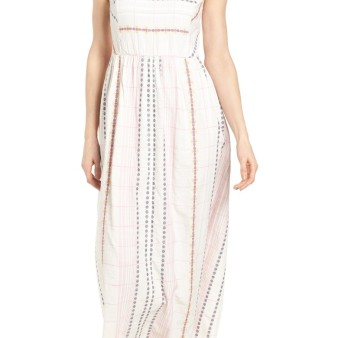 Caslon Smocked Back Maxi Dress