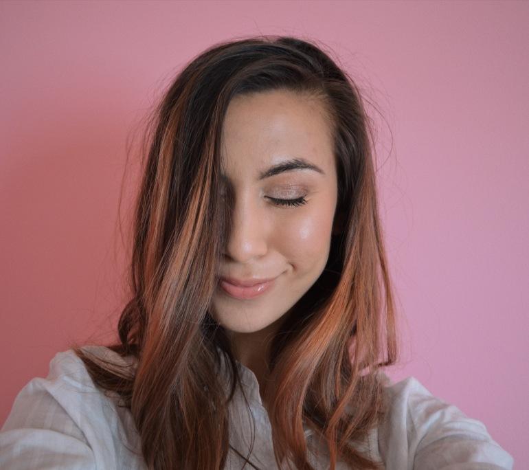 Rose Gold hair with Kristin Ess Target