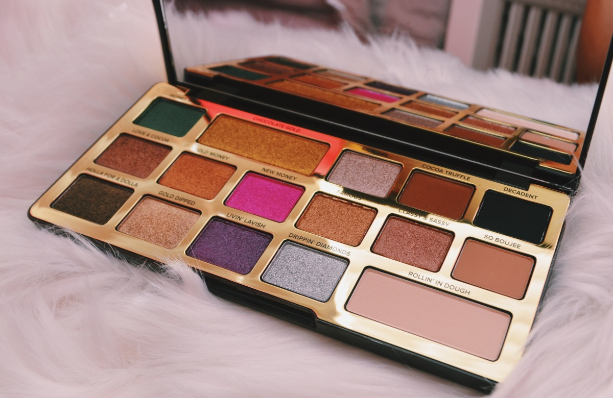 Too Faced Eyeshadow Palettes: Chocolate Gold
